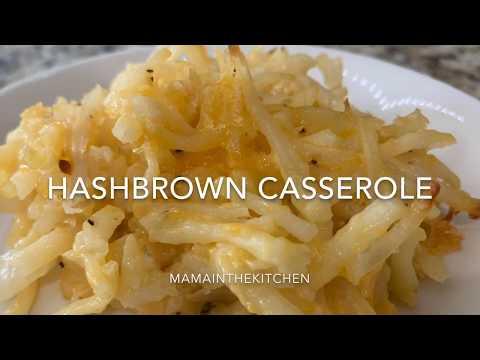 Cracker Barrel OFFICIAL Hashbrown Casserole Recipe !!! Homemade Hash brown casserole!