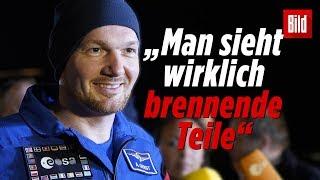 Alexander Gerst spricht über die Landung | Rückkehr zur Erde | ISS