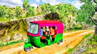 Mountain Auto Tuk Tuk Rickshaw : New Games 2021 #YouTube_Ad_games screenshot 5