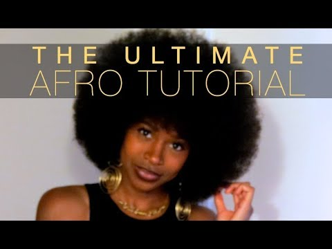 The Ultimate AFRO Tutorial | Quick & Easy for Beginners