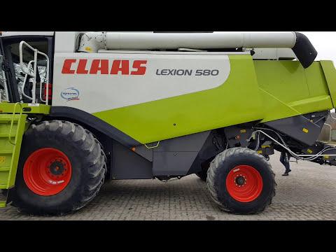 Огляд комбайна Claas Lexion 580 2007р K334 ч1