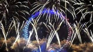 New Year Fireworks 2011 London (HQ)