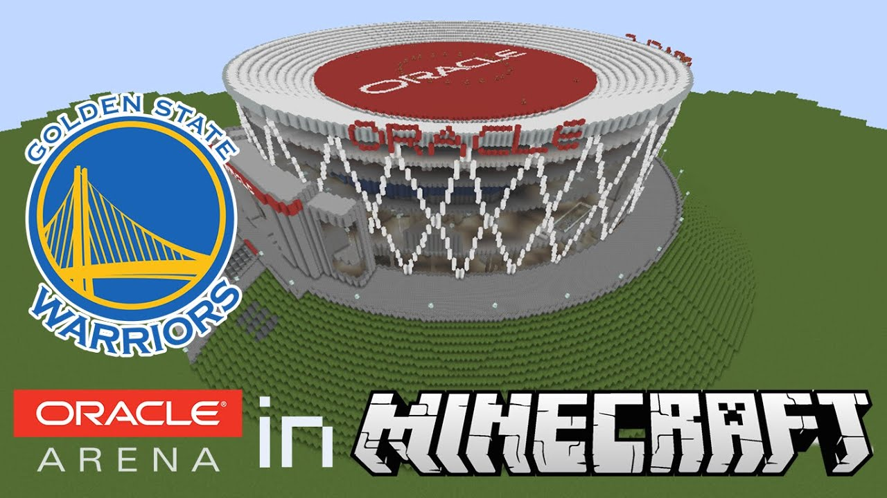 State warriors oracle arena and oakland alameda county coliseum - Minecraft Megabuild Oracle Arena In Minecraft Home Of The Golden State Warriors Youtube