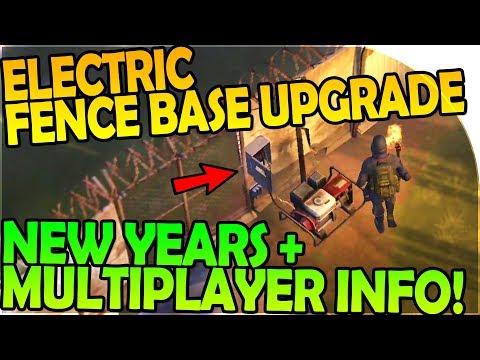 ELECTRIC FENCE UPGRADE + MULTIPLAYER INFO + NEW YEARS EVENT- Last Day On Earth Survival 1.6.7 Update