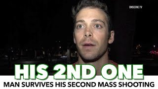 Man Survives His SECOND Mass Shooting