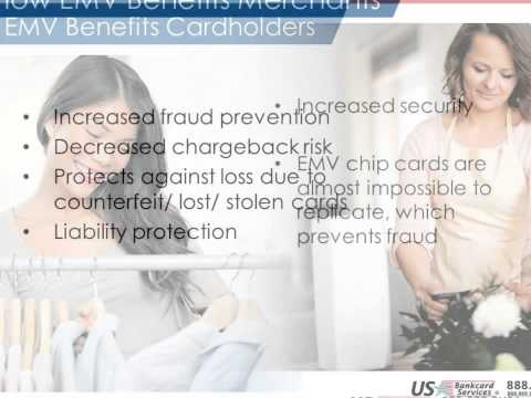 Credit card services: SECURE EACH PAYMENT WITH EMV- EMV Chip Payments Introduction
