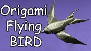 How To Make Paper Flying Bird | Origami Flying Bird | Easy Steps To Follow