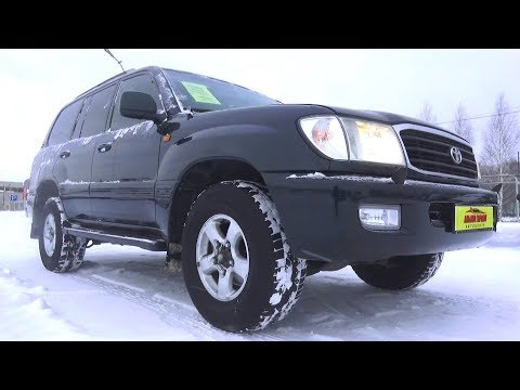 2000 Toyota Land Cruiser 100. Start Up, Engine, And In Depth Tour.