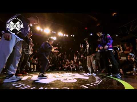 Hip-hop 3vs3 1/4F 1-4-Mind Escape(Win) vs...