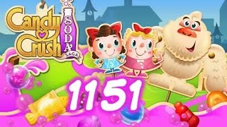 Candy Crush Soda Saga Level 1151