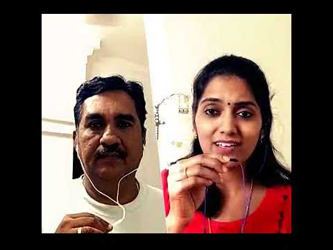 Thulli Ezhunthathu Smule Karaoke by Bairavi Gopi and Chandrasekhar