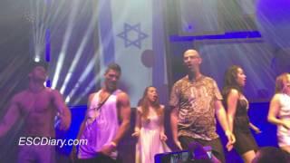 Imri Ziv (Israel 2017) dancing SHIRTLESS to