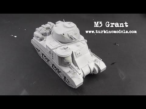 M3 Grant Takom 1/35.Building&Priming (Part 1)