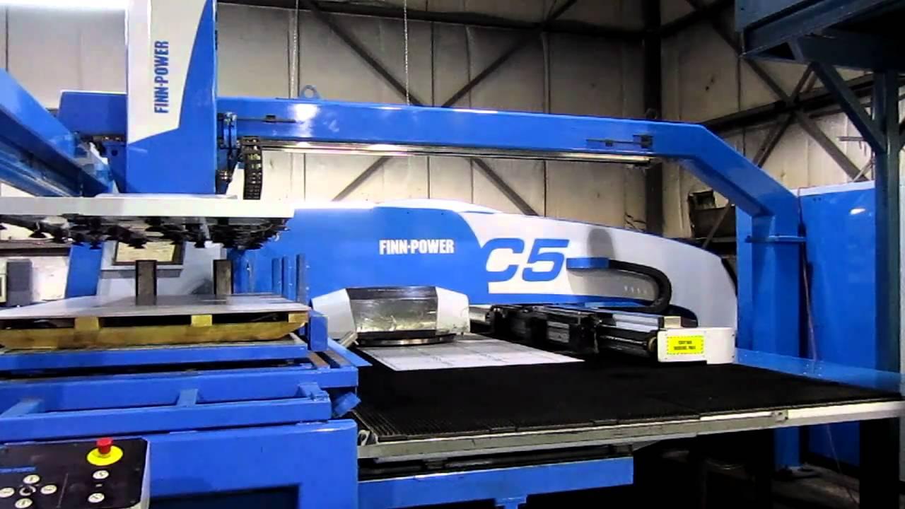 FINN POWER Model C5 2005 CNC 33 Ton, Turret Punch-3