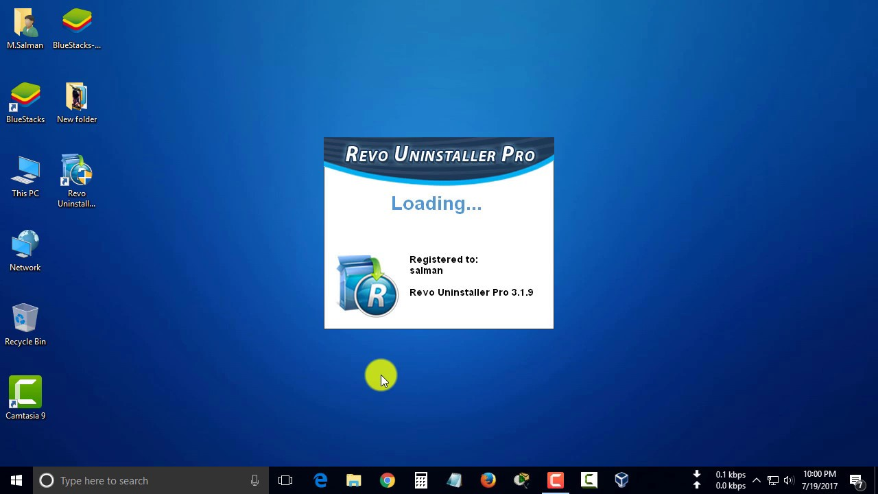 Completely uninstall any applications software from windows pc using revo  uninstaller pro