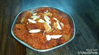 Gajar ka Halwa  Simple steps in Hindi  No Khoya  Easy Indian Dessert