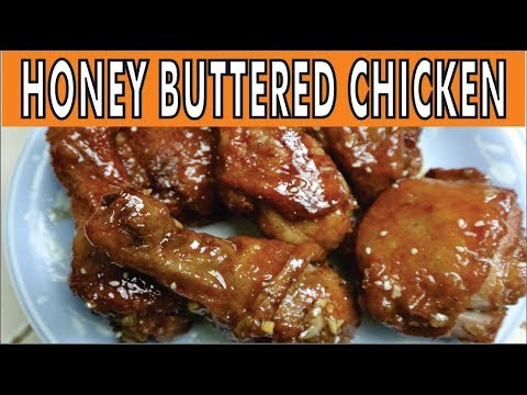 Honey Buttered Chicken Recipe by Cookingee