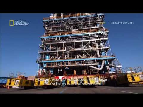 Mega Structures | Natural Gas Offshore Processing Plant | Worlds First