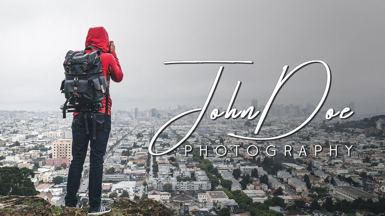How To Make Your Own Photography Logo In Photoshop Youtube