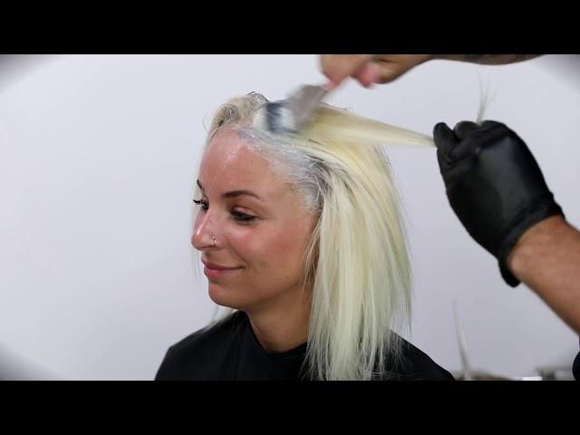 Silver-Cloud Blonde Technique with Matt Beck