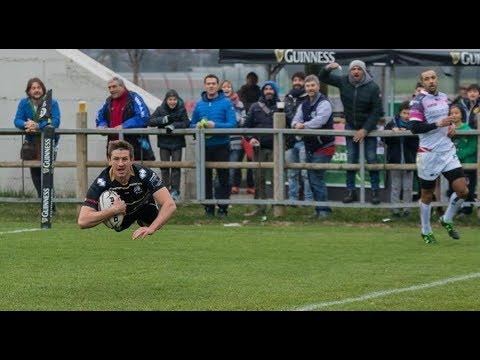 Kayle van Zyl –  Pro12 – Rugby highlights –  Zebre Rugby  -Full back – TRY TIME!!!