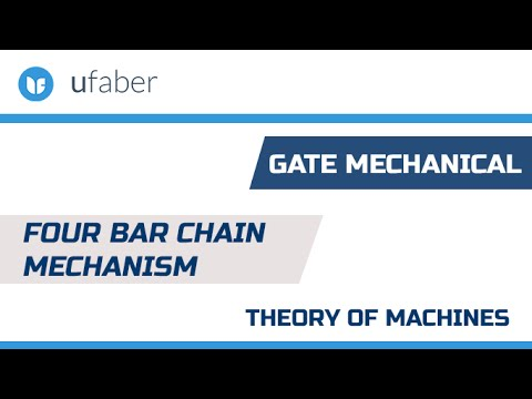 Four Bar Chain Mechanism - Inversions -Theory of Machines - GATE Mechanical