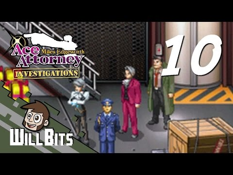 Ace Attorney Investigations, PART 10 -- Holding up the Cargo Hold