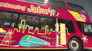 Explore the sights of Joburg on the City Sightseeing Red City Tour!