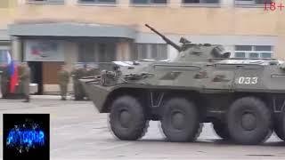NEW Военная техника в действии, армия на дороге