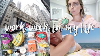 WORK WEEK IN MY LIFE IN NYC | LEGAL INTERN
