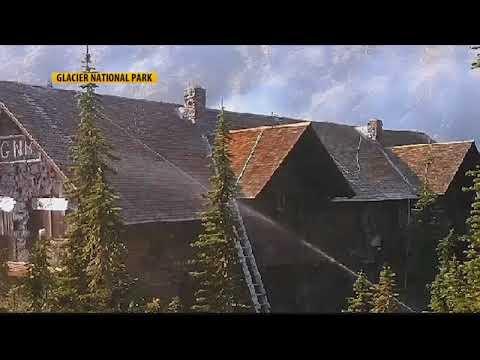 Glacier National Park landmark chalet destroyed by flames