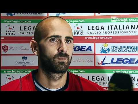 intervista Fabio Mazzeo Testimonial Visussport Rai Sport dopoTriestina Barletta 1 – 2
