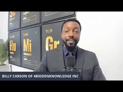 Invest In 4BiddenKnowledge with Carson of 4biddenowledge Inc