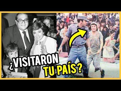 EL CHAVO DEL 8 Y SUS GIRAS ¿Visitó tu país? | CURIOSIDADES INÉDITAS | CRONOS FILMS TV