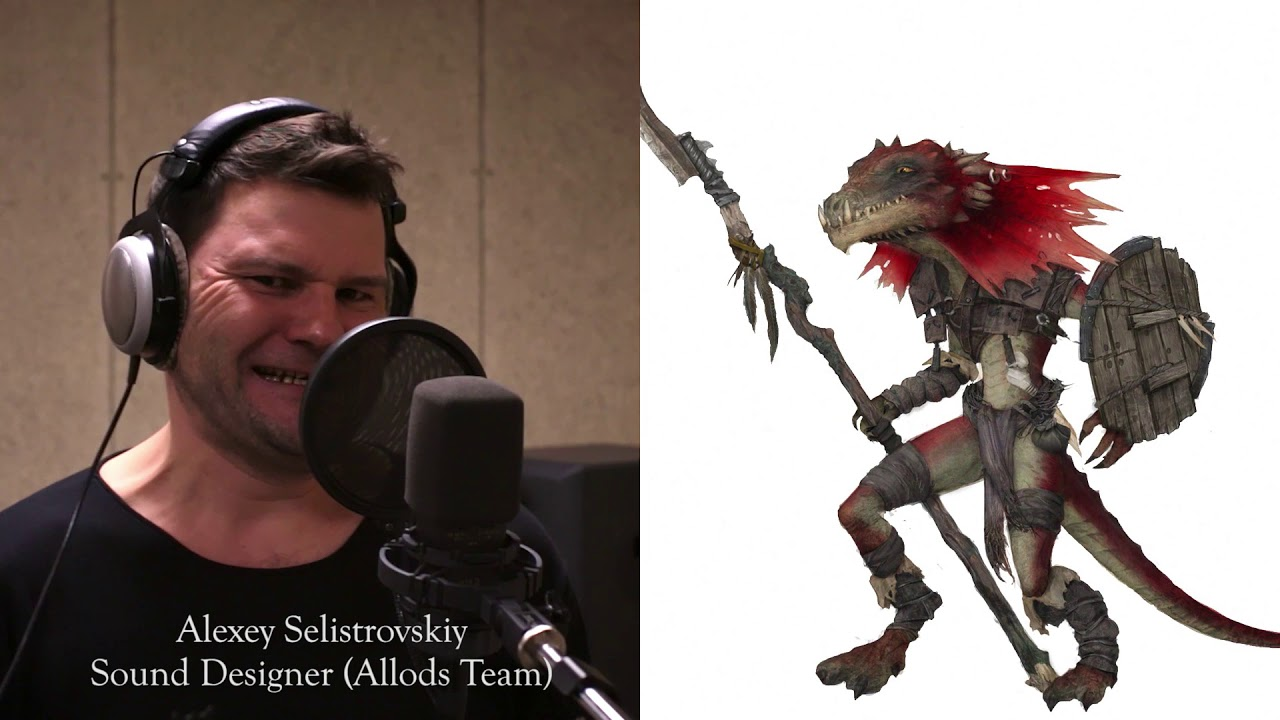 Owlcats doing voiceover - Kobold (Pathfinder: Kingmaker)