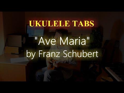 Ave Maria Ukulele TAB (beginner levels)