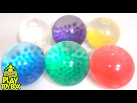 Orbeez Balloon Colors Baby Doll Squishy Stretchy Ball For Kids