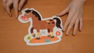 Animal Puzzles   Пазлы о животных для детей बच्चों के लिए जानवरों के बारे में पहेलियाँ