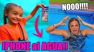 LAS RATITAS tiran IPHONE el de MIREIA al AGUA!!! ItarteVlogs