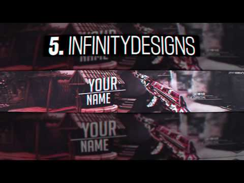 TOP 5 CS:GO BANNER TEMPLATE FOR PHOTOSHOP [FREE]