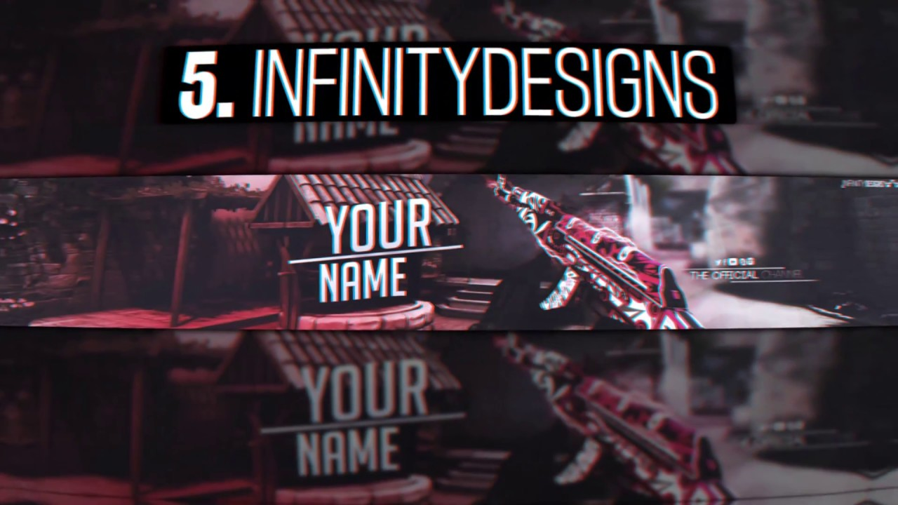 TOP 5 CSGO BANNER TEMPLATE FOR PHOTOSHOP FREE YouTube