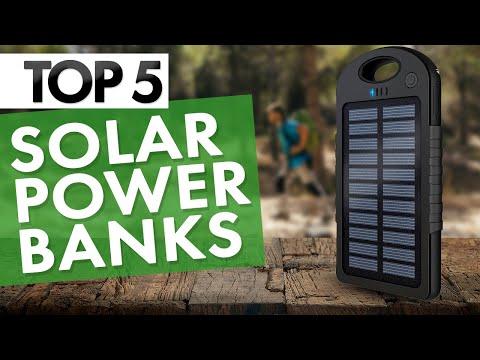 TOP 5: Best Solar Power Banks 2020!
