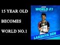 Uttrakhand teen Lakshya Sen becomes World No. 1 Junior badminton player   Oneindia News