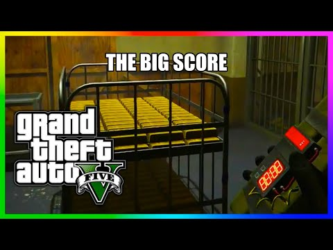 Grand Theft Auto 5, The Big Score Heist , We looted more than 200 Million