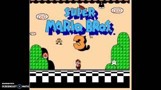 El comienzo de una aventura de Mapaches #1 / Mario Bros 3