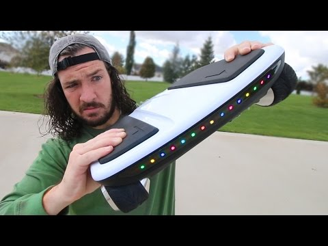WEIRD NEW HOVERBOARD?!!