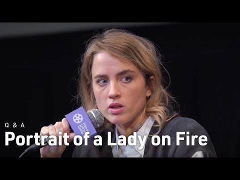 Céline Sciamma, Adèle Haenel & Noémie Merlant on Portrait of a Lady on Fire   NYFF57