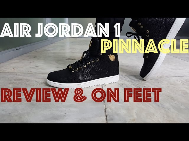 Air Jordan 1 Pinnacle : Review & On Feet