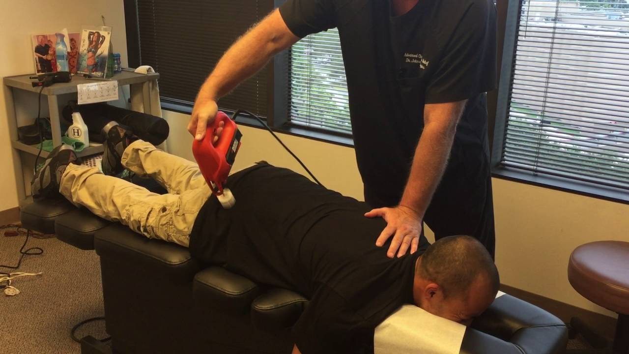 Severe Lower Back Pain Sciatica Followup Adjustment At Advanced Chiropractic Relief Llc