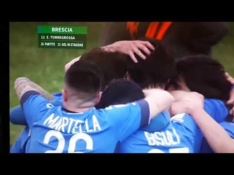 Brescia - Salernitana 3 - 0 gol Torregrossa